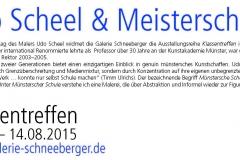 20.03.2015 - 14.08.2015: Scheel - Klassentreffen