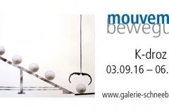 03.09.16 - 06.01.17: K-droz Paris - mouvement