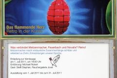 1.07.2011 - 31.07.2011: Ralf Metzenmacher - Das flammende Herz