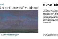 05.12.2009 - 08.01.2010: Michael Ditteney - Niederländische Landschaften. erinnert