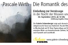 04.09.2010 - 10.10.2010: Pascale Wirth - Die Romantik des Lichts