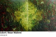 03.09.2011 - 30. September 2011: Michael Rickert - Metalla. Neue Malerei